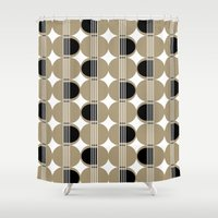 guitar Shower Curtains featuring guitar by ottomanbrim
