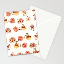 garden pattern Stationery Cards