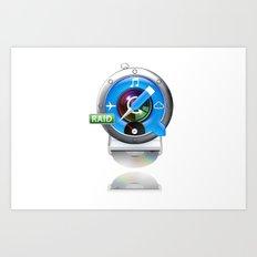 Super-Mac Art Print