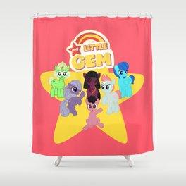 My Little Gem Shower Curtain