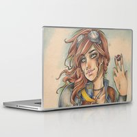 fallout Laptop & iPad Skins featuring Fallout by foxandolive