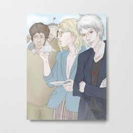 1th Day - Berlin (Hetalia Postcard Serie) Metal Print