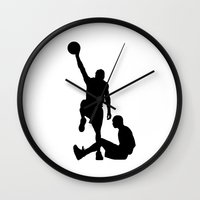 kobe Wall Clocks featuring #TheJumpmanSeries, Allen Iverson by @thepeteyrich