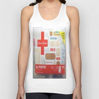 band Tank Tops featuring Band Aid by Robin Curtiss