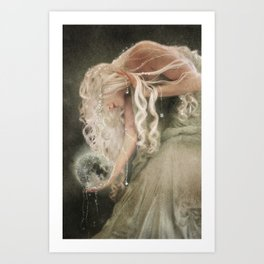 Sister Moon Art Print