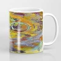 om Mugs featuring OM by Seema