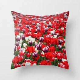 Tulip Sensation Throw Pillow