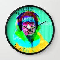beastie boys Wall Clocks featuring Gioconda Music Project · Beastie Boys · Mike D. by Marko Köppe