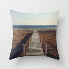Suttons Bay, Michigan Throw Pillow