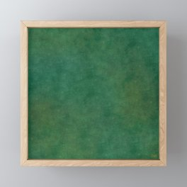 """Porstroke, Teal Shade Pattern"" Framed Mini Art Print"