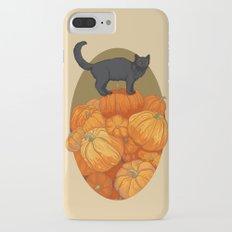 Pumpkin Cat Slim Case iPhone 7 Plus