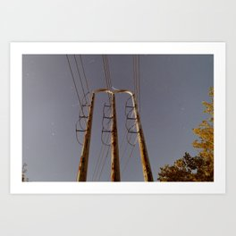 Power Tower Art Print