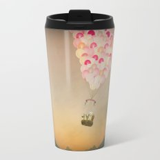 NEVER STOP EXPLORING V Travel Mug