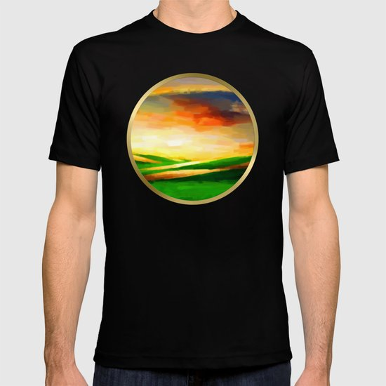 Colorful Sky - Painting Style T-shirt