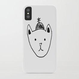 Being Fancy in a Hat iPhone Case