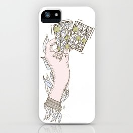 Apple lady iPhone Case