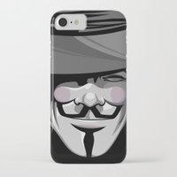 vendetta iPhone & iPod Cases featuring Vendetta by BiggStankDogg