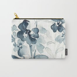 Paynes flower garden watercolor Carry-All Pouch