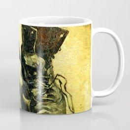 Van Gogh -  Shoes 1885 Coffee Mug