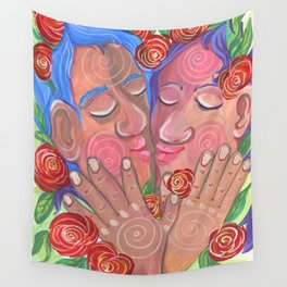 Love's bloom Wall Tapestry