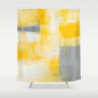breakfast Shower Curtains featuring Breakfast by T30 Gallery