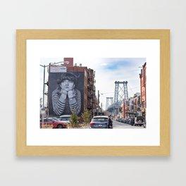 Williamsburg, Brooklyn Framed Art Print