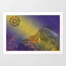 Mountain Series - Sunlight Art Print