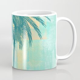 Tropical Palm Trees Coffee Mug