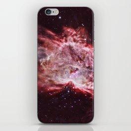 Flame Nebula iPhone Skin
