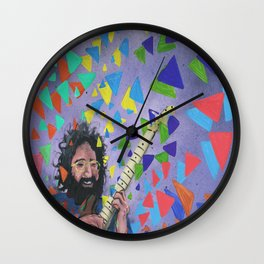 The Greatest Man To Ever Live Wall Clock
