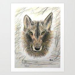 The Felix wolf Art Print
