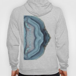 Light Blue Agate Hoody