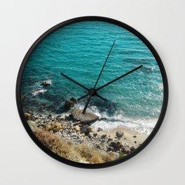 A Wild Beach Wall Clock
