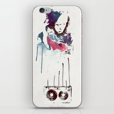 Love Is a Mix tape iPhone & iPod Skin