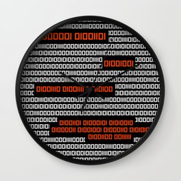 AM I NOT MERCIFUL? - Binary Code Wall Clock