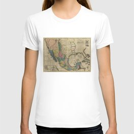 Map of the United States of Mexico (1847) T-shirt
