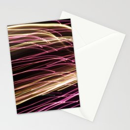 Night Stripes Stationery Cards