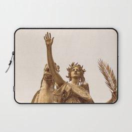 Golden Lady Laptop Sleeve