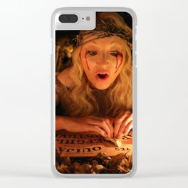 """VAMPLIFIED """"The Ouija Board"""" Clear iPhone Case"""
