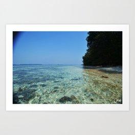 Pulau Vibes vers.2 Art Print