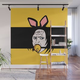 Rabbit's Howse Wall Mural