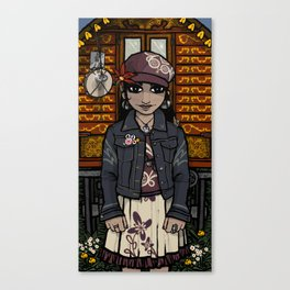 Romany Girl 2 Canvas Print