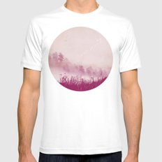 Planet 110011 White Mens Fitted Tee SMALL