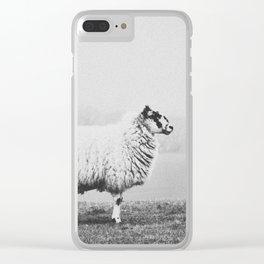 SHEEP II Clear iPhone Case
