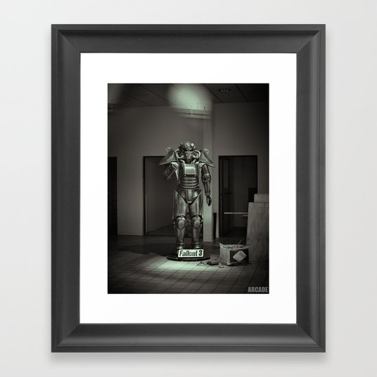 Forgotten Relic Framed Art Print