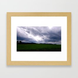 Moody Bridge Road Framed Art Print