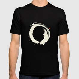 Black Enso / Japanese Zen Circle T-shirt