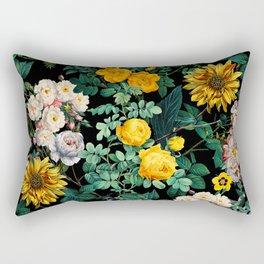 Midnight Garden XX Rectangular Pillow