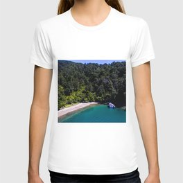 havelock mailboat crystal clear water T-shirt