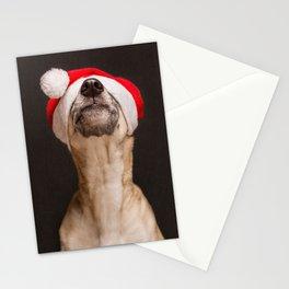 """Say """"No"""" to Santa hats Stationery Cards"""